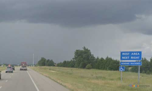 ks interstate135 i135 kansas sedgwick rest area northbound mile marker 23