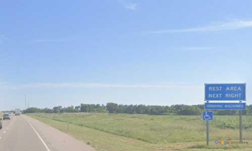 ks interstate135 i135 kansas sedgwick rest area southbound mile marker 23