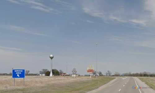 ks-interstate335 i335 i35 kansas emporia service plaza northbound mile marker 132
