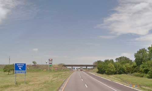 ks interstate35 i35 kansas belle plaine service plaza northbound mile marker 26