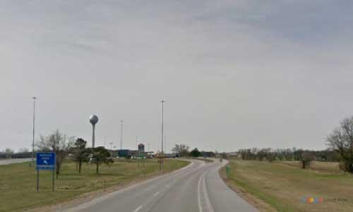 ks interstate35 i35 kansas belle plaine service plaza southbound mile marker 26