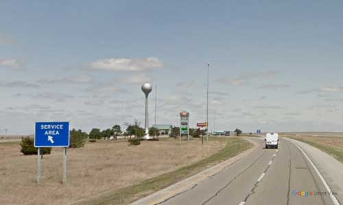 ks interstate35 i35 kansas matfield green service plaza northbound mile marker 97