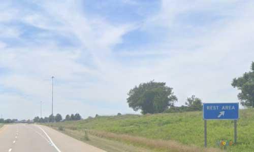 ks interstate35 i35 kansas matfield williamsburg rest area southbound mile marker 175