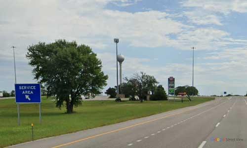 ks interstate35 i35 kansas towanda service plaza northbound mile marker 65