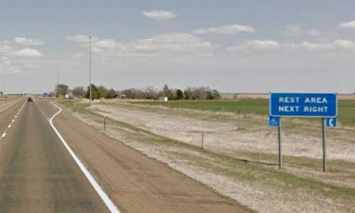 ks interstate70 i70 kansas colby rest area eastbound mile marker 48