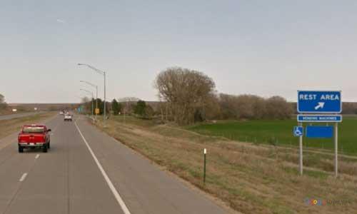 ks interstate70 i70 kansas ellworth rest area eastbound mile marker 224