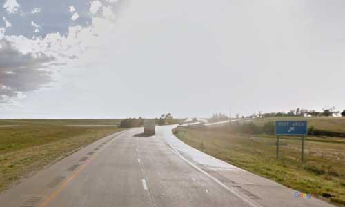 ks interstate70 i70 kansas goodland rest area westbound mile marker 7