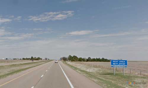 ks interstate70 i70 kansas grainfield rest area eastbound mile marker 97