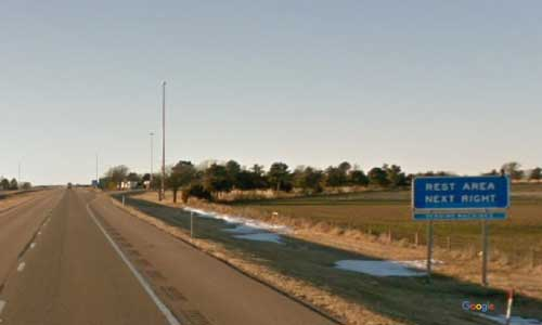 ks interstate70 i70 kansas grainfield rest area westbound mile marker 97