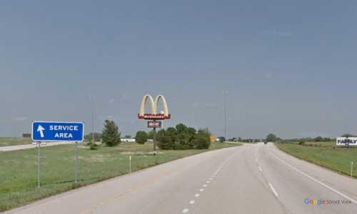ks interstate70 i70 kansas lawrence service plaza eastbound mile marker 209