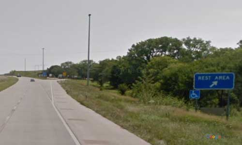 ks interstate70 i70 kansas manhattan rest area eastbound mile marker 310