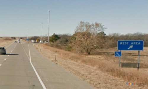 ks interstate70 i70 kansas manhattan rest area westbound mile marker 309