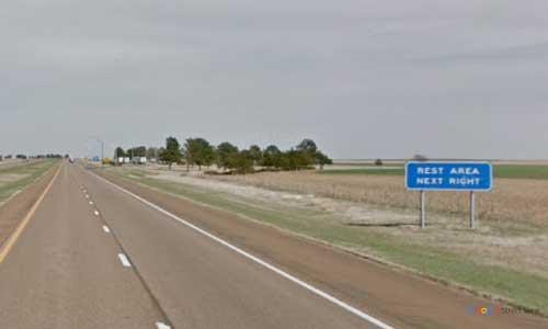 ks interstate70 i70 kansas ogallah rest area eastbound mile marker 131