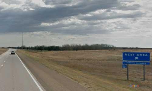 ks us route 81 us81 kansas ottawa county rest area southbound entrance